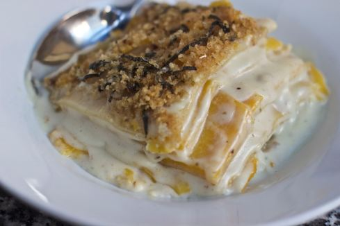 lasagne bianco