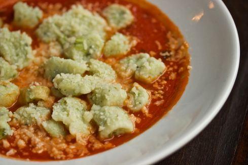 Ricotta-kale gnocchi